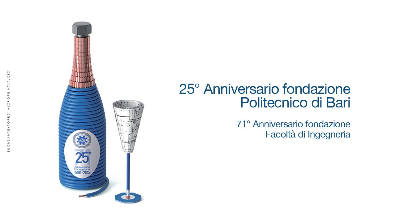 25° Anniversario fondazione Politecnico di Bari