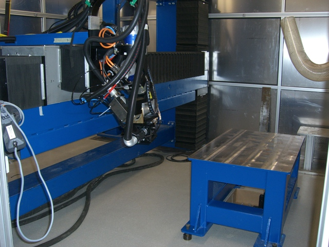 Hybrid Welding Station CNC-5 Axis