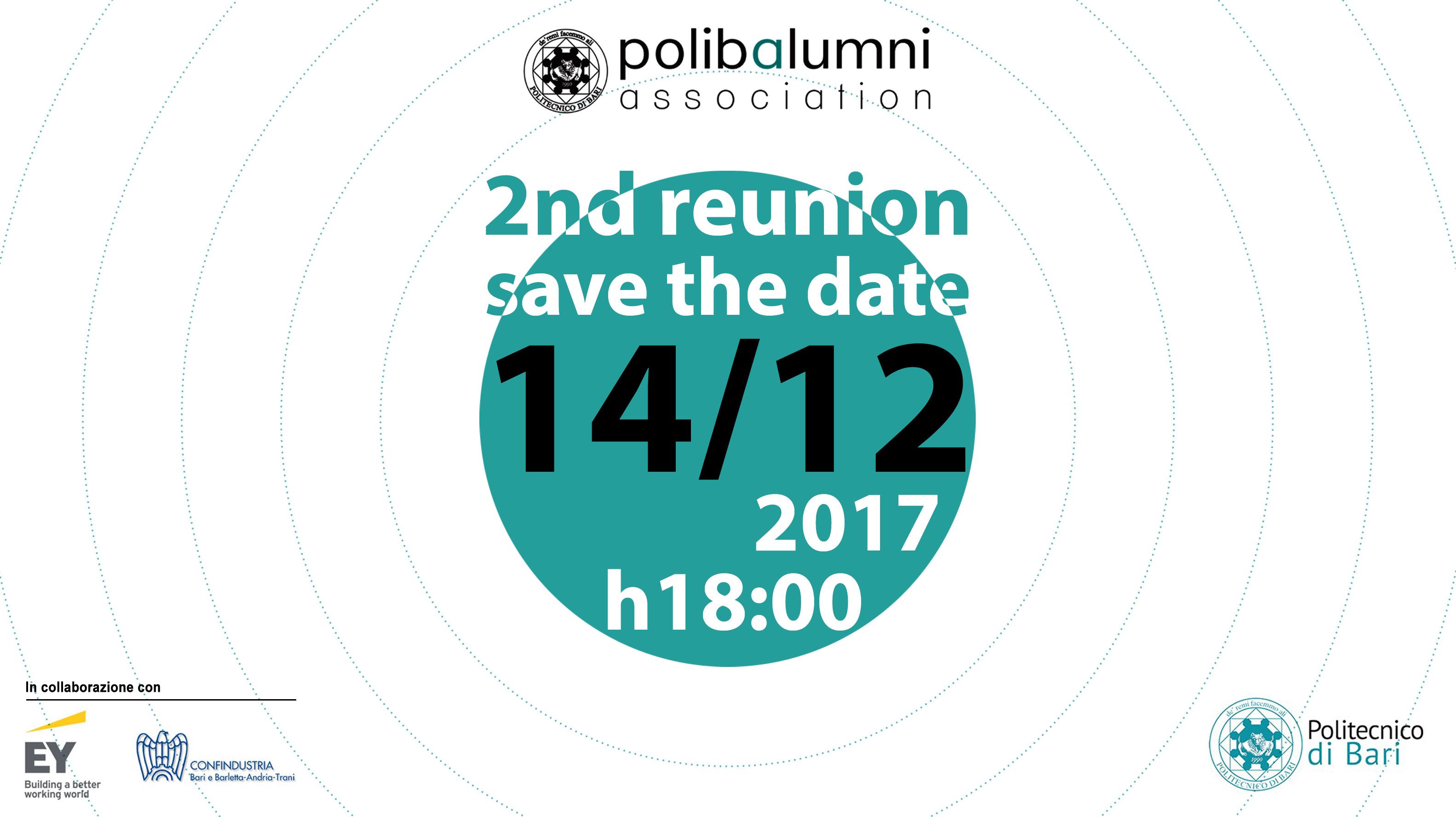 Seconda reunion dell'Associazione Alumni