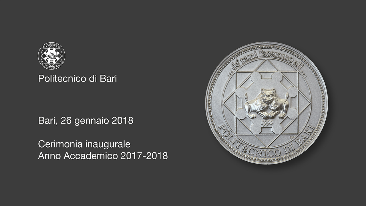 Cerimonia inaugurale Anno Accademico 2017-2018