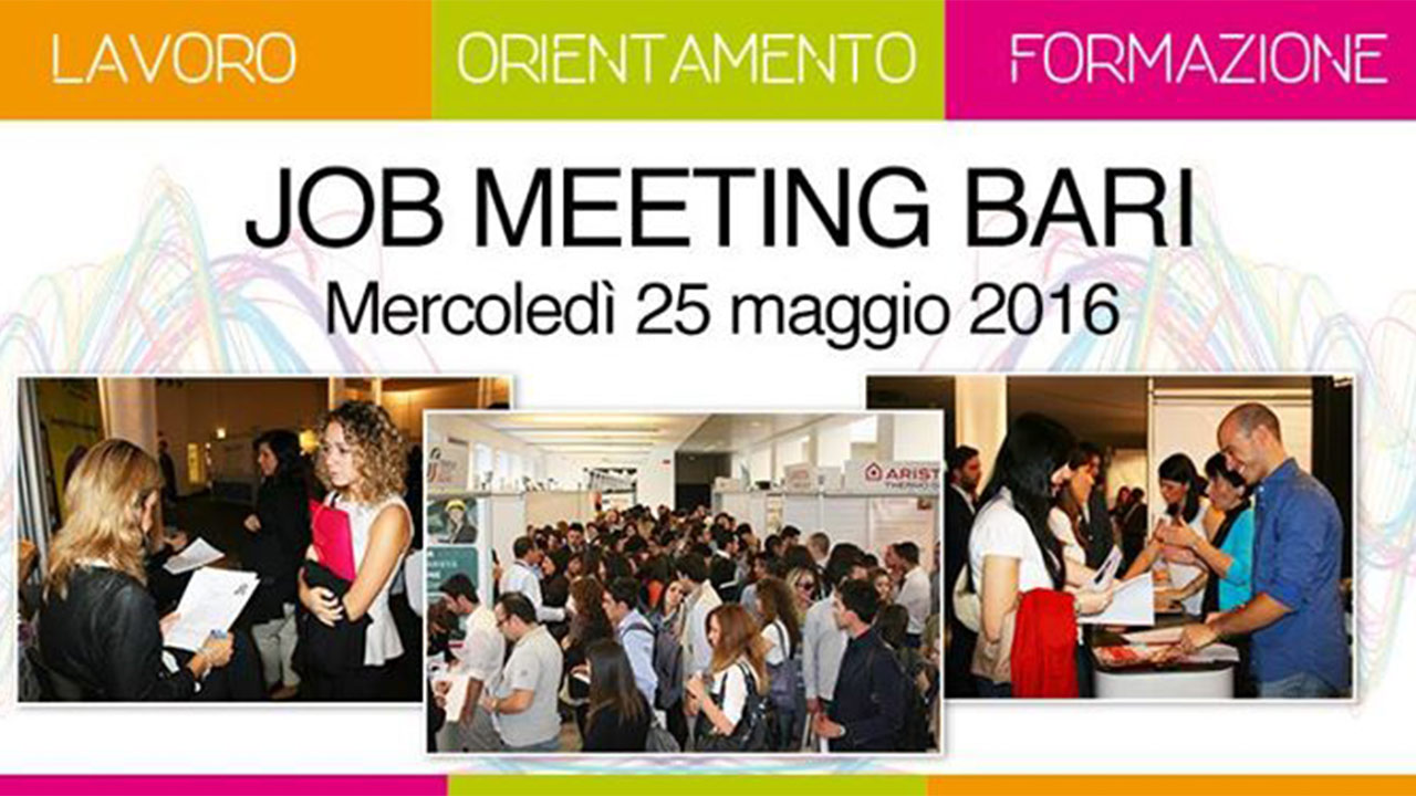 Job Meeting al Politecnico di Bari