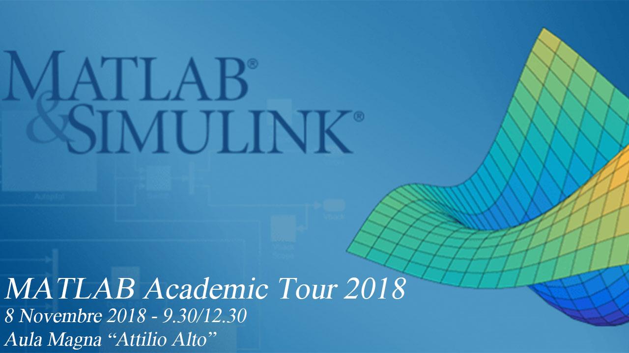 Matlab Academic Tour 2018