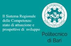 Il Sistema Regionale delle Competenze: stato di attuazione e prospettive di  sviluppo