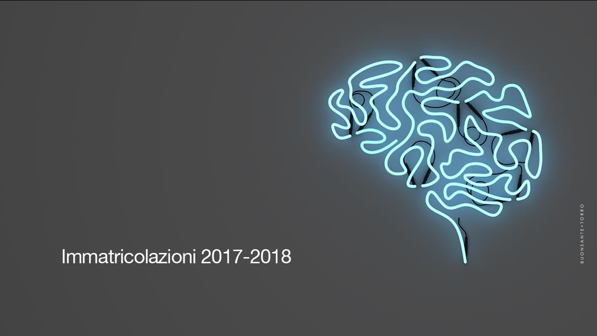 Immatricolazioni 2017-2018